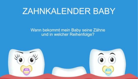 Zahlkalender Baby