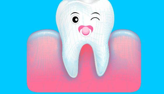 Der erste Zahn beim Baby