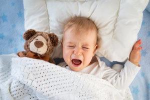 Fieber während des Zahnen beim Baby