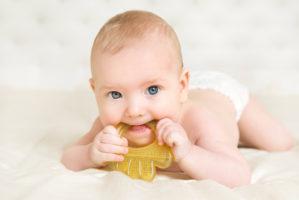 Beissring als Linderung beim Zahnen
